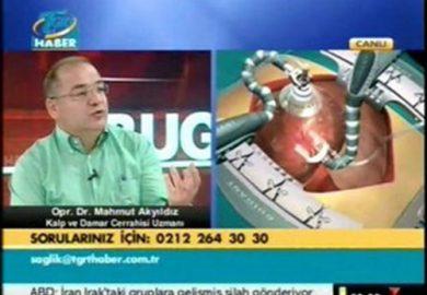 Tgrt Haber – Artı Sağlık – 08.07.2011