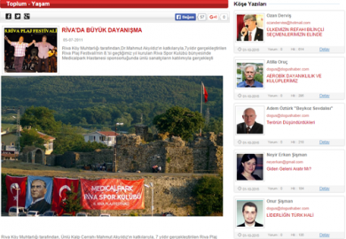 Doğuş Haber / Riva'da Büyük Dayanışma (05.07.2011)