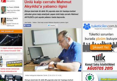 EmlakPencerem.com / Ünlü kalp cerrahı Mahmut Akyıldız'a yabancı ilgisi (25.06.2014)