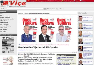 Gazeteviçe.net / Memleketin Ciğerlerini Söküyorlar
