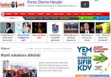 Haber61.net / Tek Ses Vardı (17.08.2008)