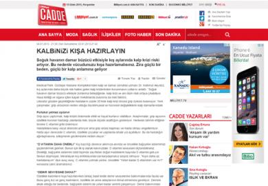 Milliyet Cadde / Kalbinizi Kışa Hazırlayın (04.01.2013)